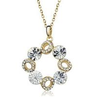 Austria crystal pendant multicolour  series pendant female long design hangings chain