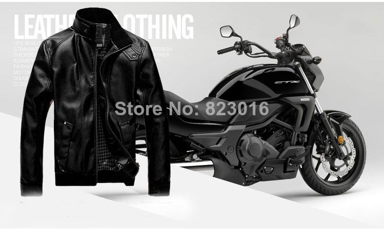 Plus size jaquetas masculinas PU outdoor winter down jacket men winter coat parka casual jacket jc-87 Size M-XXXLmen(China (Mainland))