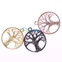 Retro Wish Tree Drop Jewelry Connector Charms Bead Accessory Pendant Wishing#57892