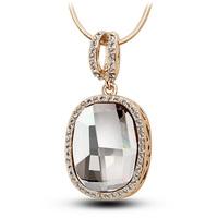 Fashion sweater long  austria crystal pendant female pendant accessories female chain