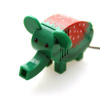 free shippingQ version Vacuum Mini USB Desktop elephant powerful vacuum cleaner (Mini Packaging)