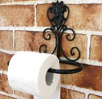 European Style Side-of-Tank Toilet Paper Holder Tissue Paper Holder Black