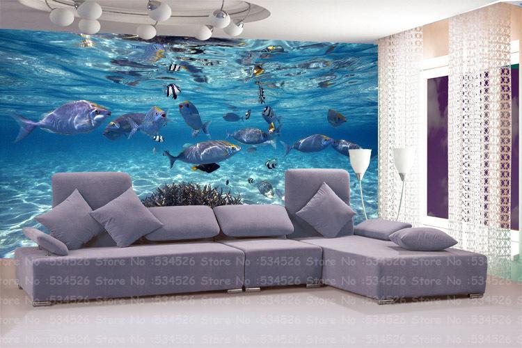 large 3d environmental mural papel de parede pvc wall. Black Bedroom Furniture Sets. Home Design Ideas