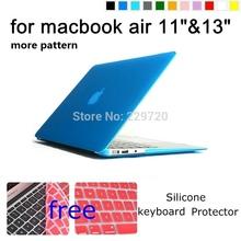 Матирующие чехол оболочки для Apple Macbook Air 11 «, 13 » бесплатная клавиатура [ A1369 A1465 A1370 A1466 ]