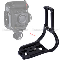 L-shaped Vertical Shoot Quick Release Plate Camera Holder Bracket for Tripod Ball Head Nikon D4/D4S with Battery Grip -HOT