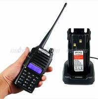 POFUNG UV-82 Dual Band UHF VHF 5W 128CH Two-Way Radio Walkie Talkie Interphone Free Shipping & Drop Shipping