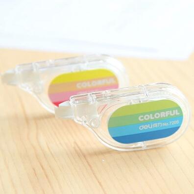 Duolala stationery supplies fresh mini long safe Correction Tape for school kids girl student writing 5mm*6m 1pc brand wholesale(China (Mainland))