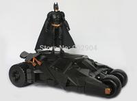 2014 New Batman Fan Collection Original Box Batmobile Toys 22CM*12CM Car Batmobile +10CM Action Figure Batman Boys Toy 20set/L