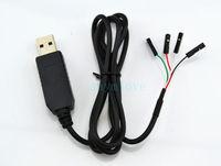 10pcs New USB to UART TTL Cable Module PL2303 Converter