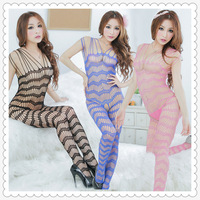 Hot Sexy Body stocking Adult Woman Lingerie Open Crotch  W1508
