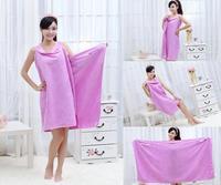 Creative Bath Towels Couple Creative Beach Towel Thick Absorbent Bathrobe Lovers Magic Bath Skirt Pure Cotton Bathroom Towels
