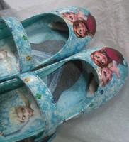 2014 hot sale real sapato infantil shoes 1pair retail frozen elsa princess shoes for girls size 25-30 little girl for dresses