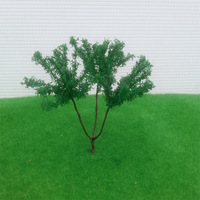 12pcs H :0mm  model wire  scale  tree for building model layout model tree with leaf