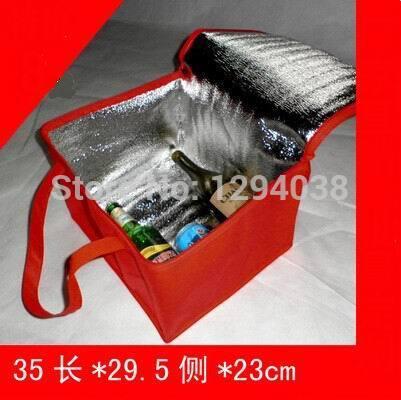 Большой утолщаются складной свежий поддержанию сумка холодильник обед для пищевых продуктов фрукты морепродукты стейк изоляции термосумка изоляции пакет со льдом