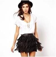 Женская юбка PU 0285#