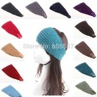 10 pieces / lot 2014 New Winter Fashion Women Crochet Headbands Knitted Headbands Headwraps For Women 1044
