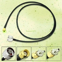 Free Shipping EL3044 N Male Plug To RP-SMA Male TS9 CRC9 Cable Antenna Adapter For Huawei E156 E156G
