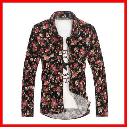 Мужская повседневная рубашка m/5xl , Slim fit, G2757 ASIAN  SIZE стоимость