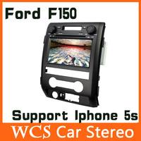 2 din Car Dvd Automotivo Player For Ford F150 2013 W/GPS Navigation+AM/FM Radio+BT Audio+Russian Menu,Steering Wheel,support 3g