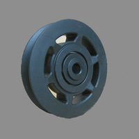 New 95mm Universal Wearproof Bearing Pulley Wheel For Gym Equipment Part/Free shipping