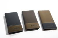 New 2014 High Quality Fashion Brand Men's Leather Wallet Long Design Purse Zipper Coin Wallets Card Holder carteira masculina