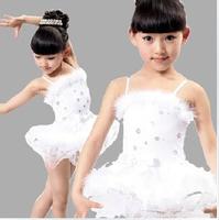children ballet dress kids gown tutu Dance dress baby  ball dresses fitness performance clothing leotard costume free shipping