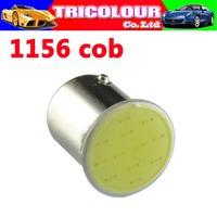 Super Bright!!  10PCS S25 1156 led COB 18SMD 1156 BA15S P21W Auto Car Signal Reverse Led Lights White 12V Auto Led #LF47