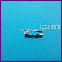 1000pcs 20mm Safety Lock Back bar Pin DIY brooch base, Brooch Back Base With Safety Pin use for brooch