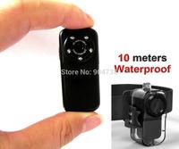 Alloy Shell Thumb Camera F38 mini DVR HD 1080P/30fps Sport Helmet Camera Action Camcorder Waterproof 10M