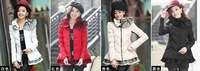 Free Shipping Women Winter Down-Cotton Parkas Female winter Slim Down & Parkas Jacket Outerwear Winter Overcoat M-XXL