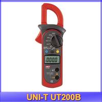free shipping UNI-T UT200B Digital Clamp Multimeter Backlight Resistance Tester Meter