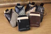 new 2014 fashion design single shoulder leather women & men message bags pattern handbag famous brand