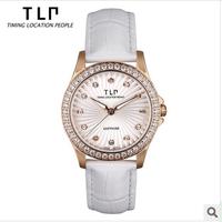 TLP brand,Luxury, designer ladies watch,Waterproof leather quartz watch ,watch women luxury,women dress watch