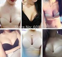 seamless strapless nude bra