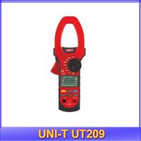 free shipping UNI-T UT209 LCD Clamp Digital Multimeter AC DC Voltage Amp Ohm Hz Tester