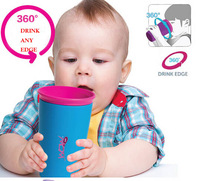 New arrival wowcup magic baby learning drinking cups feeding cup Colorful 266MLBPA FREE PVC FREE  1pcs