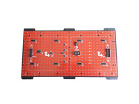 P10 Semi-utdoor Yellow Color LED Display Module, HUB12 Constant Current High Quality Single Color P10 LED Module
