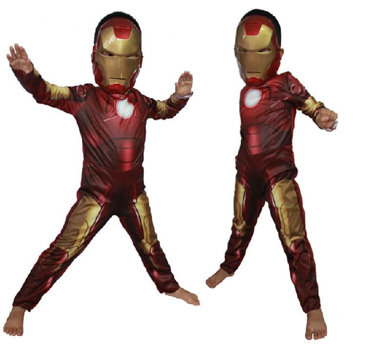 Новогодний костюм железного человека для мальчика своими