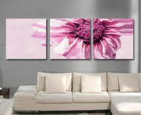 Wholesale - hand painted large oil painting Pure quality decorative picture modern wall trippings flower m1377
