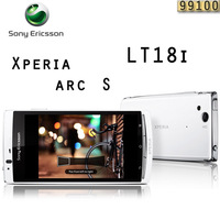 LT18 Original Sony Ericsson Xperia Arc S LT18i Cell phone Android 3G WIFI A-GPS  4.2 TouchScreen 8MP  Free Shipping  refurbished