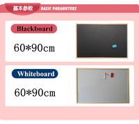 90*60cm Free shipping magnetic whiteboard with wood frame,Dry wipe Boards christmas gift 2014 new arrival