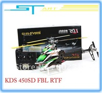 KDS INNOVA 450SD FLB rc RTF Helicopter 7CH 2.4G Metal CF 3D remote control 450 Helicopter with EBAR 3GX Gyro KDS450SD helikopter