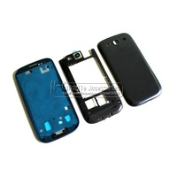 Hot Sale Middle Frame Bezel Chassis Back Housing Cover with Small Buttons For Samsung Galaxy S3 i9300 Free Shipping