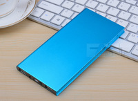 Blue Ultra-thin polymer power bank 20000mah,portable charger external battery 20000mah power bank