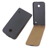 NEW Vertical Flip PU Leather Case Cover Magnetic Open for Nokia Lumia 630 Drop Shipping