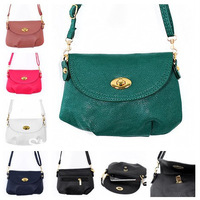 1000pcs/lot 18 Colors Women's Messenger Bag Leather Handbag Shoulder bag lady CrossBody Bag Satchel Purse Tote Bolsas femininas