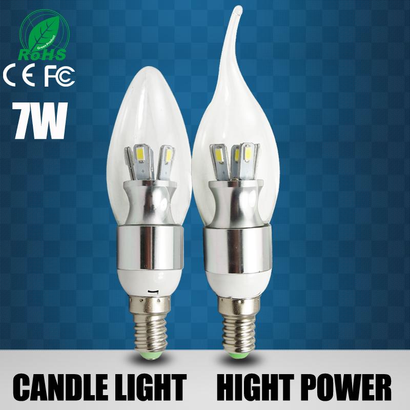 12 stück led leuchtmittel e14 3w 5w 6w 7w led kerzen 220v led leuchtmittel lampenrohre, warm/cool white led kerzenlampen versandkostenfrei