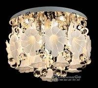 2014  Modern brief living room lights crystal lamp LED ceiling light bedroom lights fashion lighting DS-021