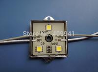 3 pcs  SMD5050 LEDs LED Modules Waterproof IP68 Warm White/Pure White DC12V  Square Shape Free ship