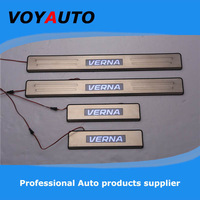 Good Led Lights by Lights Stainless Steel VERNA LED Scuff Plate,Led  Door Sill Plate,  Led Door Sill for VERNA